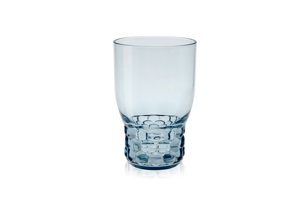 Kartell Jellies Family 4 x Water Glasses Light Blue