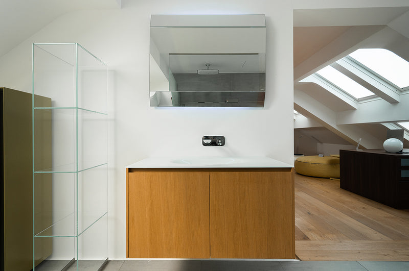 antoniolupi Vanity Unit with Illuminated Mirror