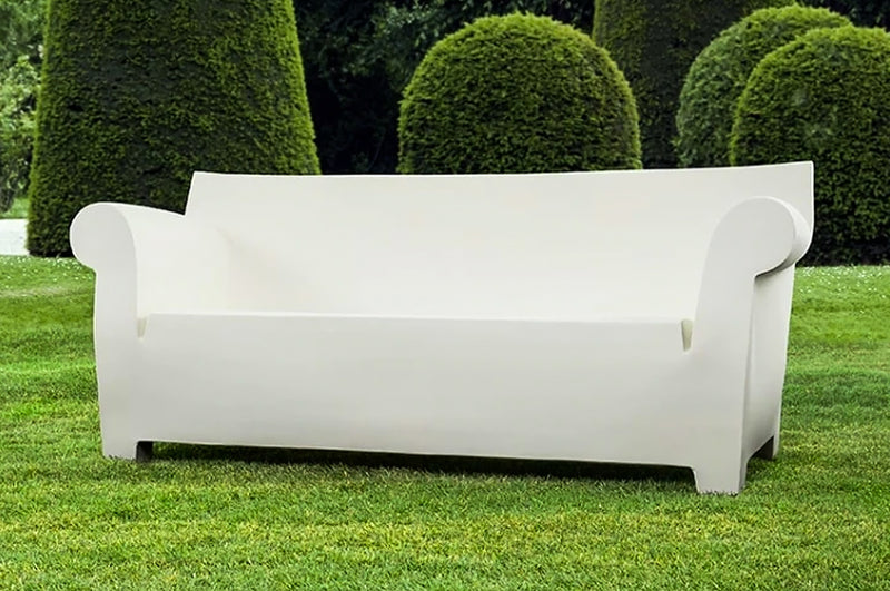 Kartell Bubble Club Sofa - Matt Black