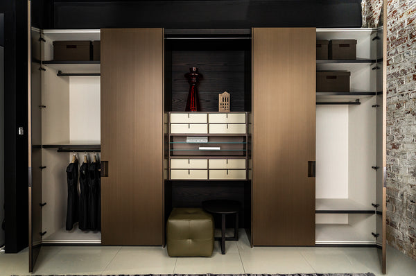 Poliform Plus Wardrobes with Central Quid System