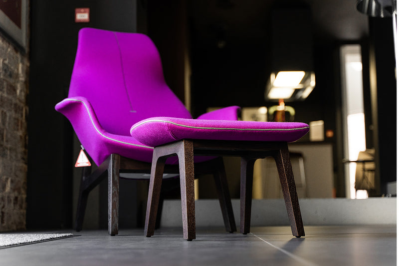 Poliform Ventura Armchair and Stool