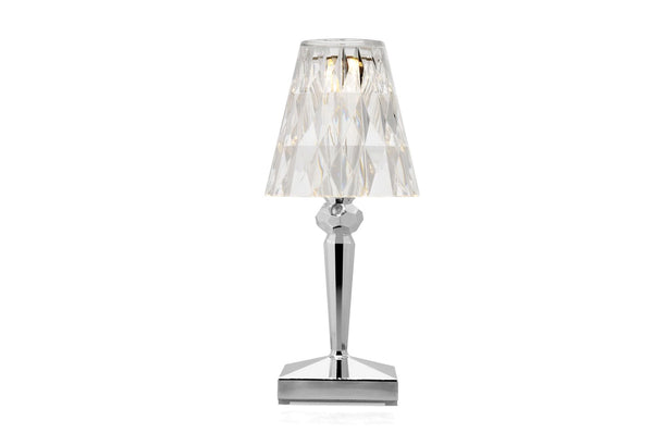 Kartell Battery Lamp Chrome