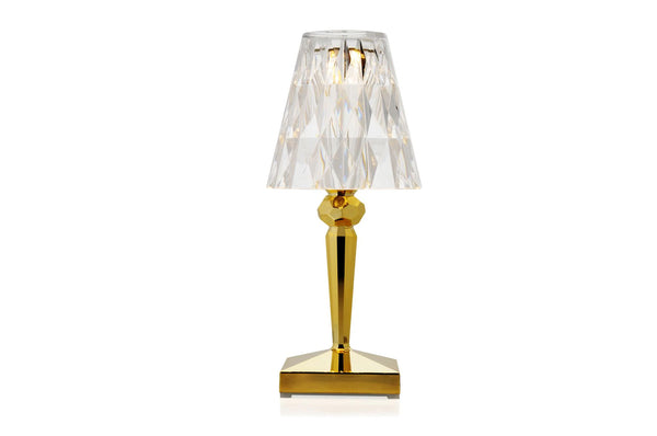 Kartell Battery Lamp Gold