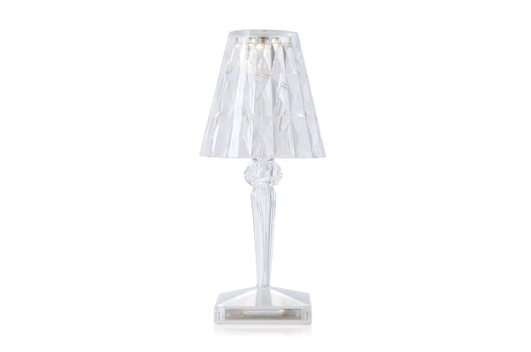 Kartell Battery Lamp Crystal