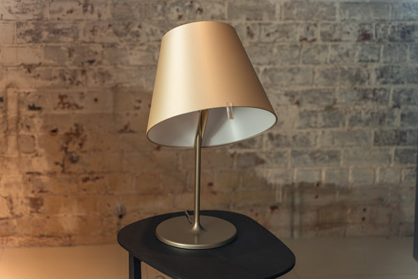 Artemide Melampo Table Lamp Bronze Ecrù