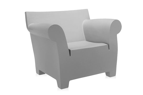 Kartell Bubble Club Armchair - Light Grey