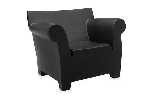 Kartell Bubble Club Armchair - Matt Black