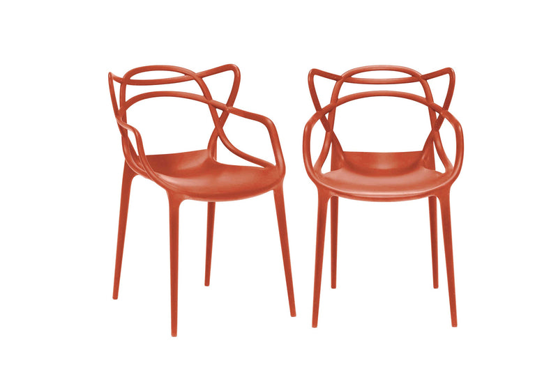 Kartell Masters Chairs (Pair) - White