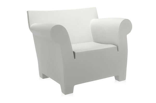 Kartell Bubble Club Armchair - Zinc White