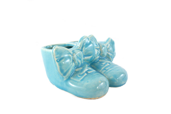 Vintage Baby Booties Planter Great Baby Shower Gift