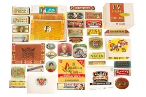 Cigar Box Label Lot 100's of Unused Scrapbooking Tobacciana Ephemera Over 100
