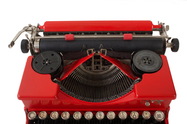 SOLD! Rejuvenated Royal Typewriter  - Vintage -1920s - Working  - Manual - Portable - Glass Keys