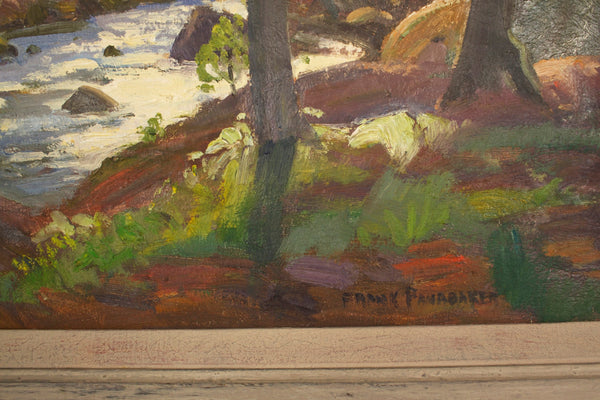 Original Frank Panabaker Oil Painting - Signed One of a Kind