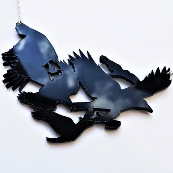 Crows Necklace