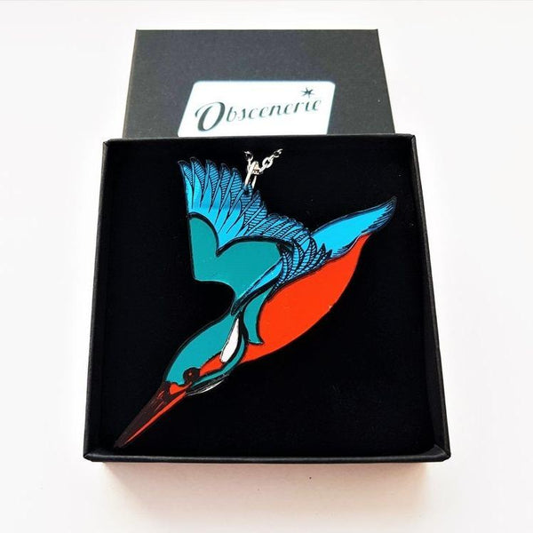 Kingfisher Necklace [variant_title] - Logan Malloch