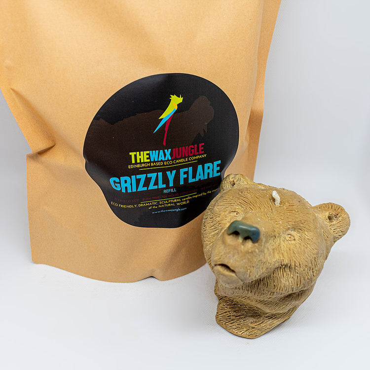 Grizzly Flare Candle