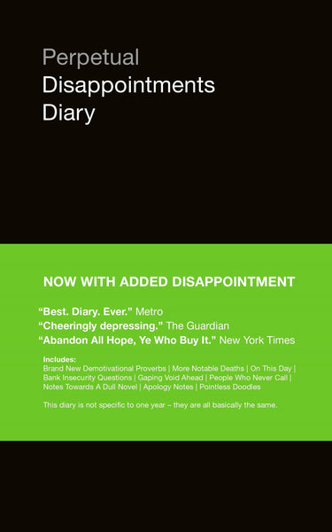 Perpetual Disappointment Dairy - Black Green [variant_title] - Logan Malloch