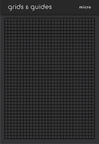 Grids & Guides Black Pocket Notebook [variant_title] - Logan Malloch