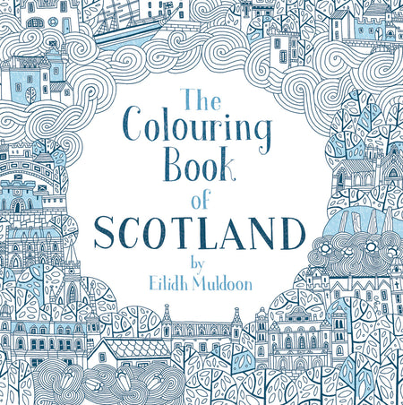 The Colouring in Book of Scotland by Eilidh Maldoon