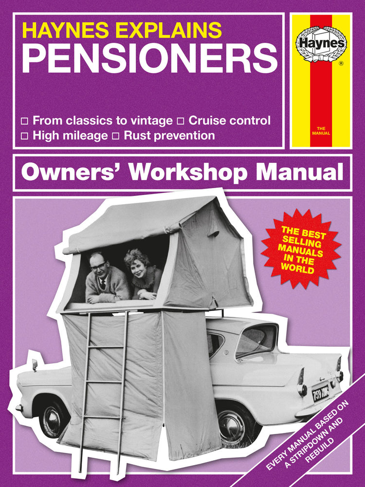Haynes Explains Pensioners [variant_title] - Logan Malloch