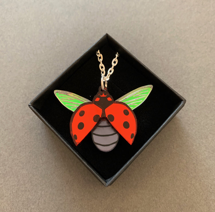 Ladybird Necklace [variant_title] - Logan Malloch