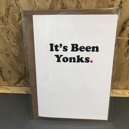 It's Been Yonks