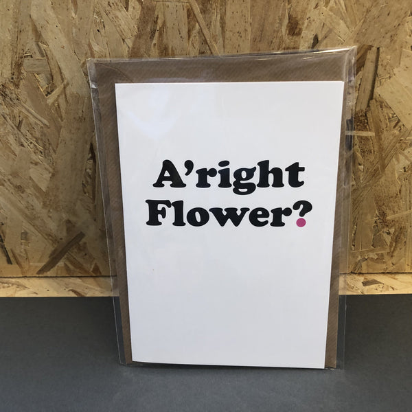 A'right Flower? [variant_title] - Logan Malloch