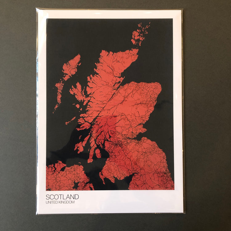 Scotland - A3 Red/Blue - Logan Malloch