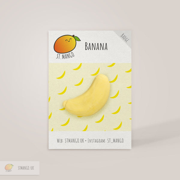 Banana Badge [variant_title] - Logan Malloch