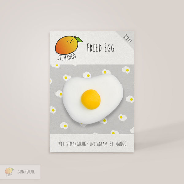 Fried Egg Badge [variant_title] - Logan Malloch