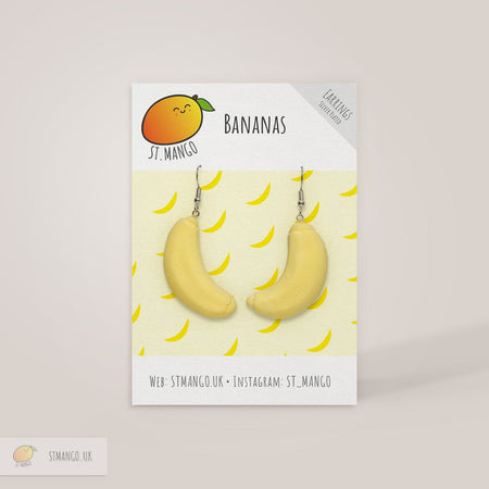 Banana Earrings [variant_title] - Logan Malloch