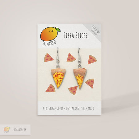 Pizza Slices Earrings [variant_title] - Logan Malloch