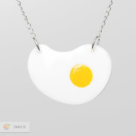 Fried Egg Necklace [variant_title] - Logan Malloch