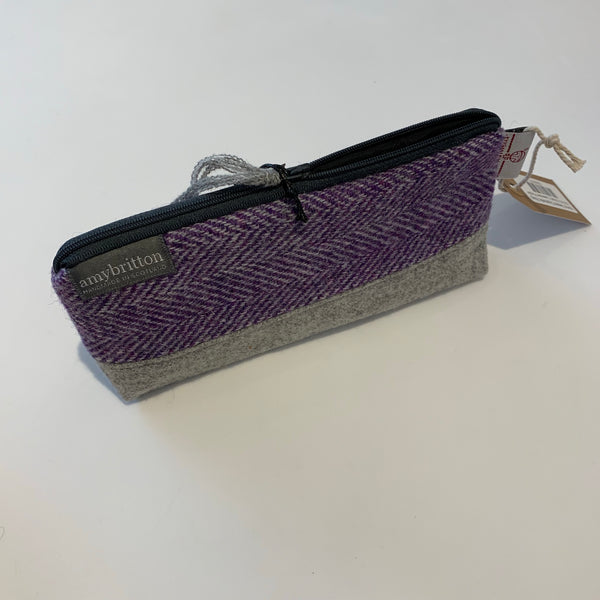 Harris Tweed Cosmetic Bag [variant_title] - Logan Malloch
