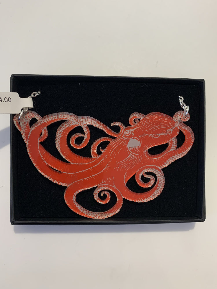 Double Sided Octopus Necklace [variant_title] - Logan Malloch