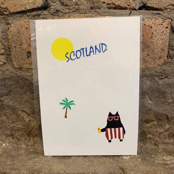 Scotland Cat [variant_title] - Logan Malloch