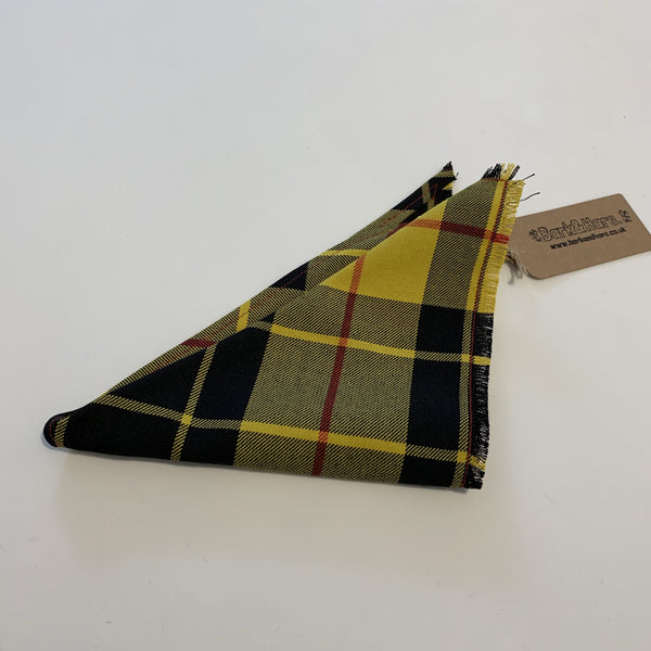 Bandana (Neck Tie) MacLeod of Lewis (Yellow) / Small - Logan Malloch