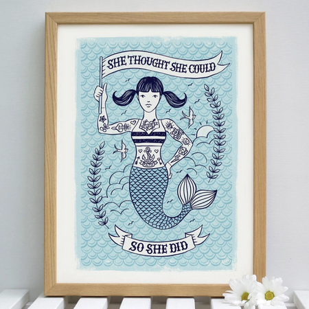 Mermaid Giclee Print