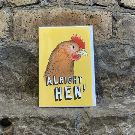 Alright Hen Card [variant_title] - Logan Malloch