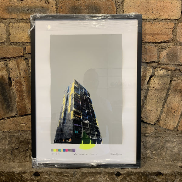 Persevere Court Large Framed - Logan Malloch