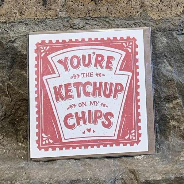 Ketchup on my Chips Card [variant_title] - Logan Malloch