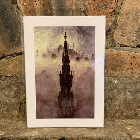 Edinburgh by Night Series - Scott Monument [variant_title] - Logan Malloch