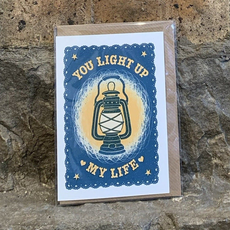 You Light Up My Life Card [variant_title] - Logan Malloch