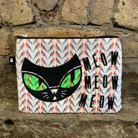 Meow Accessories Bag With Birds - Logan Malloch