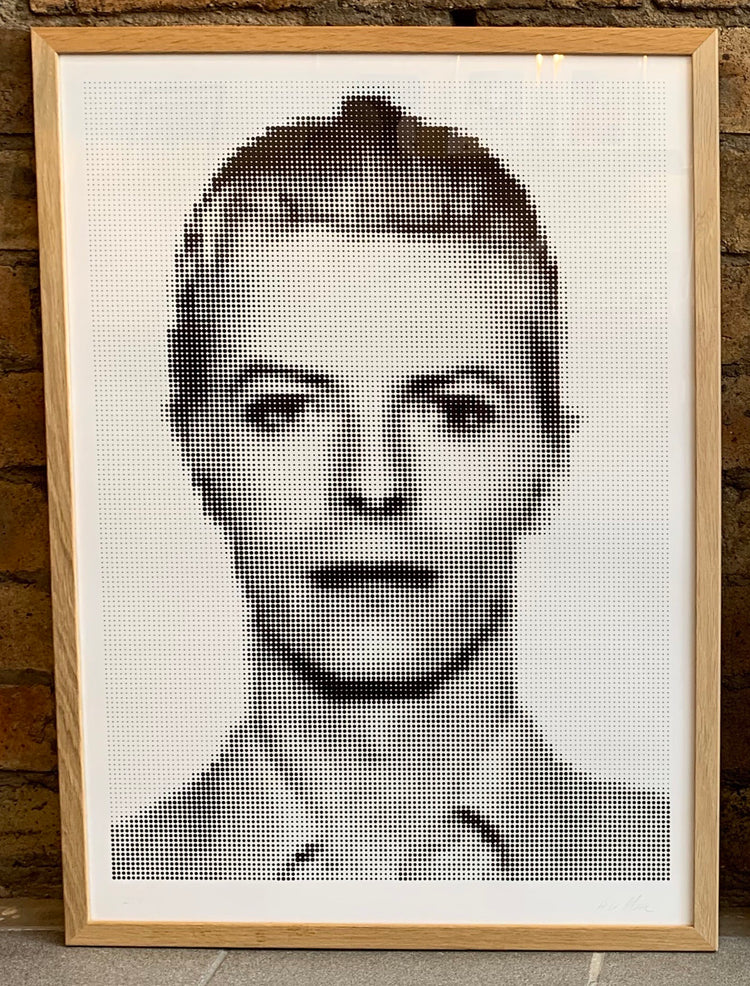 Fame Pixelated David Bowie Mug Shot