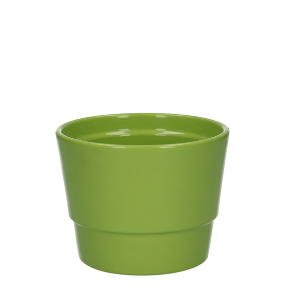 Ceramic Pot Basic Green [variant_title] - Logan Malloch
