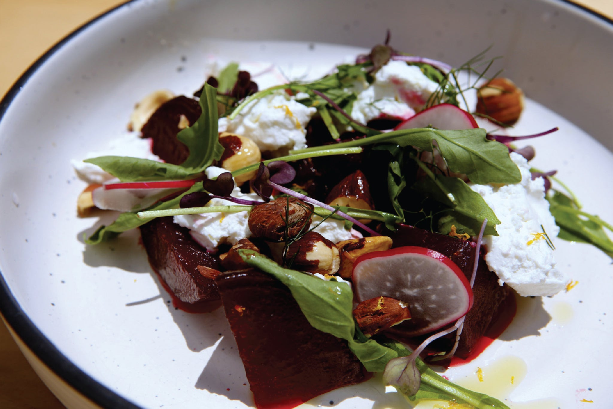 Beech Honey Dew Beetroot Salad