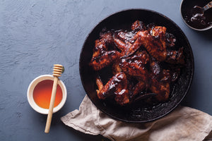 Beech Honeydew Bbq Chicken Wings