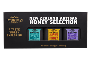 Taylor Pass Honey Co  Taylor Pass Artisan Honey Selection Gift Box