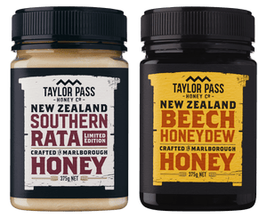Taylor Pass Honey Co Taylor Pass Artisan Honey Selection Limited Edition Rata and Beech Honeydew